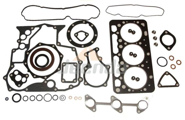 Gasket Kit Upper 1G823-99350 and Down 1G962-99363 for Kubota  3-Cylinder D902 D902-E2B D902-E3B Toro Dingos 22323 22324 Engine