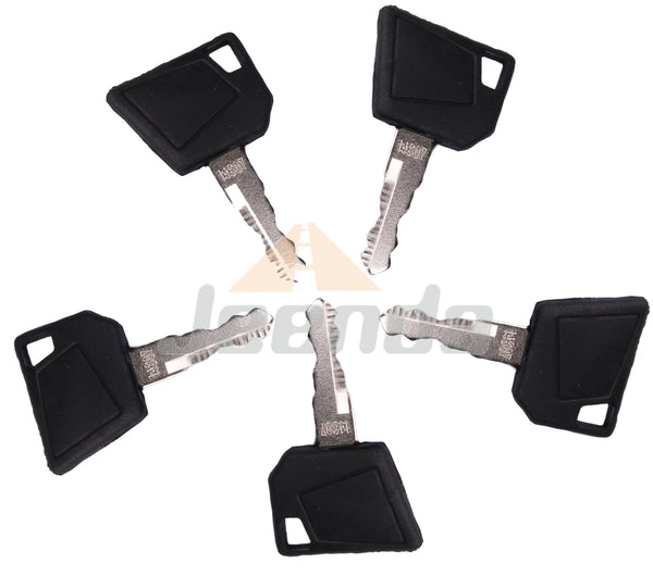 Jeenda Ignition Keys 14607 701 45501 for JCB 3CX Bomag Dynapac Terex Vibromax NH Ford Moxy Wacker Neuson Hamm Volvo Mini Excavator Bomag Cat New Holland 701 45501