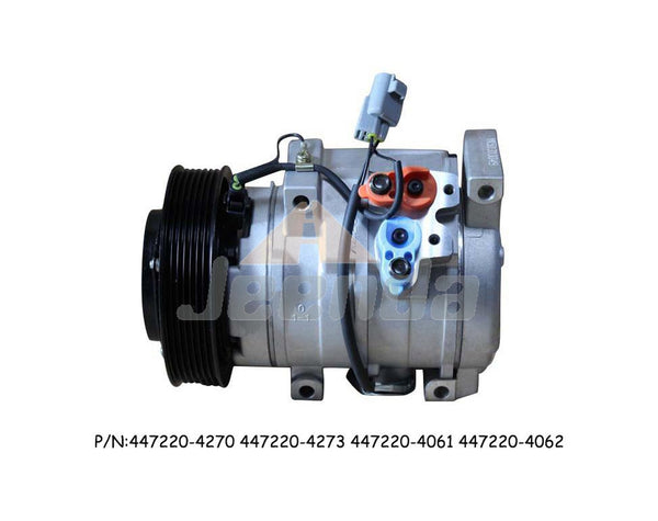 Free Shipping Compressor 447220-4270 447220-4273 447220-4061 447220-4062 12V for Toyota Solara SE Convertible 2-Door 2.4L 2362CC l4 2008 Camry 2.4 10S17C