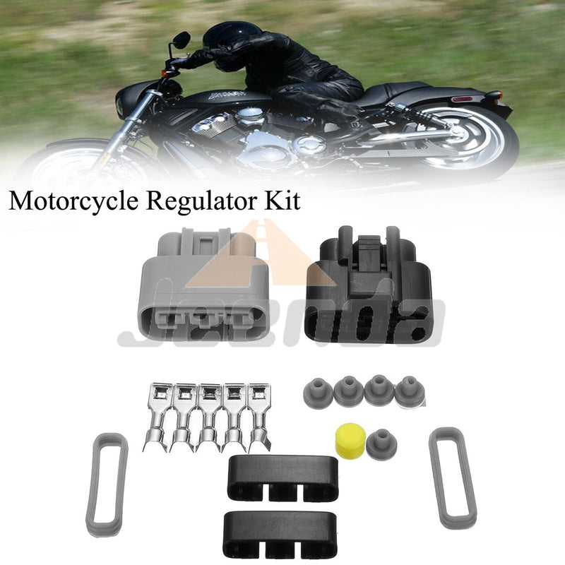 Free Shipping Cable Voltage Regulator Motorfiets Connector Kit for HondaTRX 500 680 FM-2005-2009,