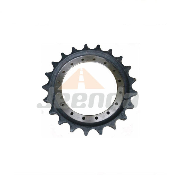 Free Shipping Sprocket 1017928 08110004 08-11-0004 1017928V AT202586 AT202586V HT410 R15890B0M01 for Hitachi EX270-5 EX300-3 EX270-5 EX300 EX300-3 EX310H-3C John Deere 270LC 892E-LC