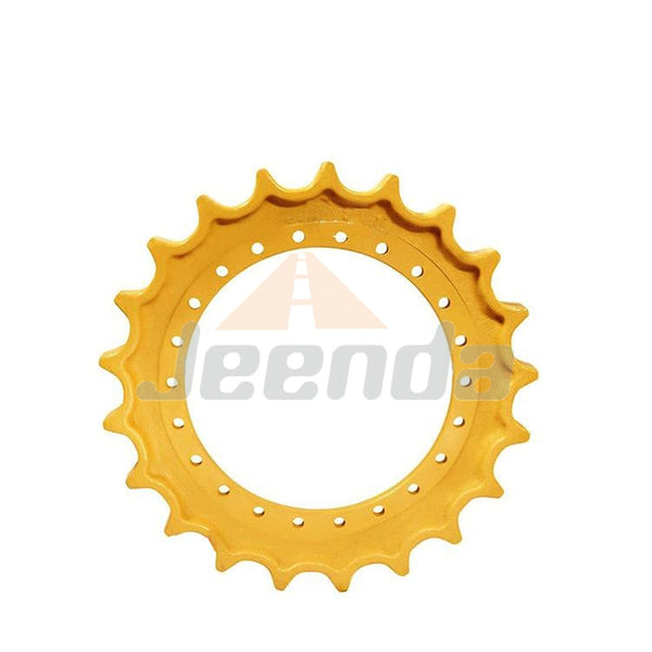 Free Shipping Sprocket 1024217 102-4217 08-11-0028 AT183370 AT250565 HT539 R76060A0S01 for Hitachi EX60-5 EX60LC-5 EX60LC-5 EX60LC-5 EX80-5 EX80LC-5 Hitachi-Zaxis ZX70 ZX75 ZX75UR/US-A ZX80 John Deere 75C 75C 80/80c 80/C