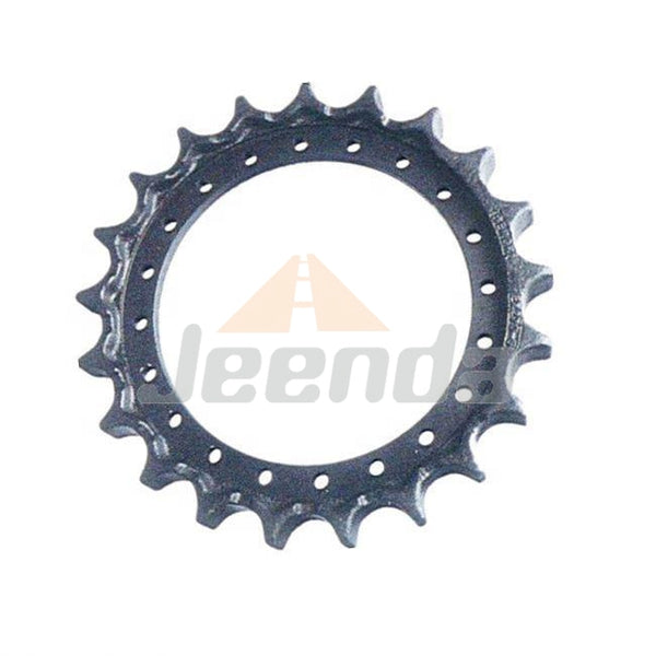 Free Shipping Stainless Steel Chain Sprocket 1010956 08-11-0007 71447247 AT131565 FT3061 R1599000M01 TH1028494 for Hitachi EX400 FH400LCH EX330LC-5 HD EX370-5 EX450H-3C  John Deere 3554 370 370LC 3754D 450C 450DLC 450LC 992DLC 992ELC
