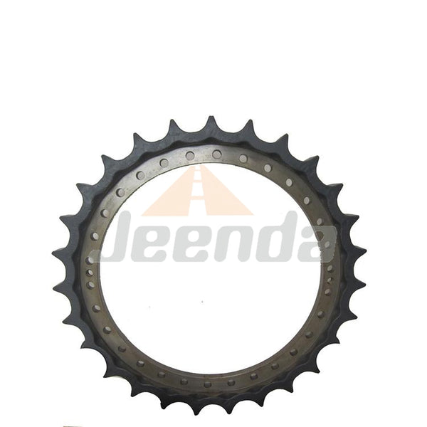 Free Shipping Sprocket 1010203 AT311805 TH109726 FT3059 for Hitachi EX200-2 EX200-5 EX200LC-2 EX200LC-5 John Deere 200C-LC 200LC 225C-LC Tech Data 21T-16BH-22MMBH