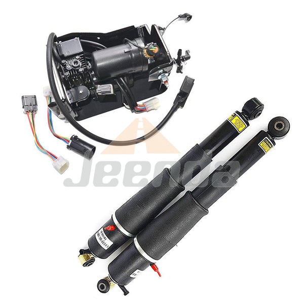 Free Shipping Air Suspension Shock and Pump Assy 22187156 25979393 25979394 15254590 19299545 for GMC YUKON XL 1500 2001-2013 CADILLAC ESCALADE 2002-2013
