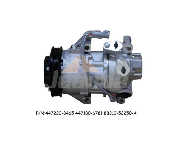 Free Shipping Compressor 447220-8465 447180-6781 88310-52250-A 88310-52250 12V for Toyota Hilace 2005-2015 3.0D Y-aris 1.3