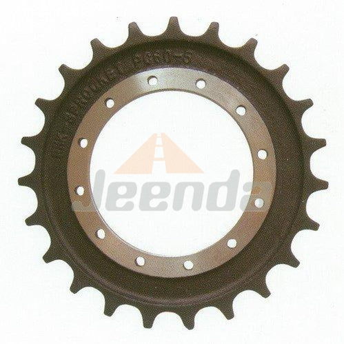 Free Shipping Sprocket 1033163 08110010 08-11-0010 4S00864 HT804 for Hitachi ZX330-3 EX300-1 ZX290F-3 ZX350LC-3 John Deere 2954D 350DLC 350GLC
