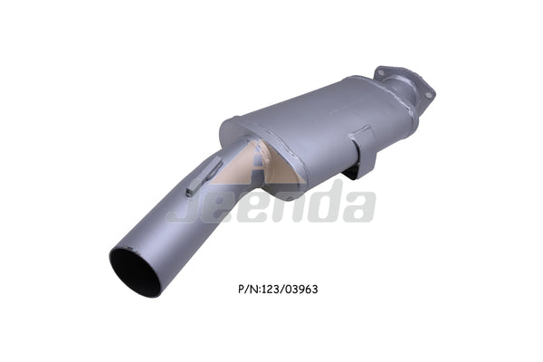 Jeenda Muffler 123/03963 for JCB 3CX 4CX