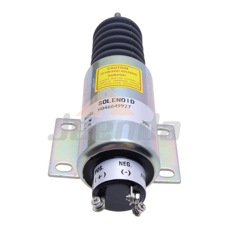 Free Shipping Diesel Stop Solenoid 2300-1503 SA-4641 2370-12E2U1B2A 7750000104 with 3 Terminals for Woodward 2370 Series