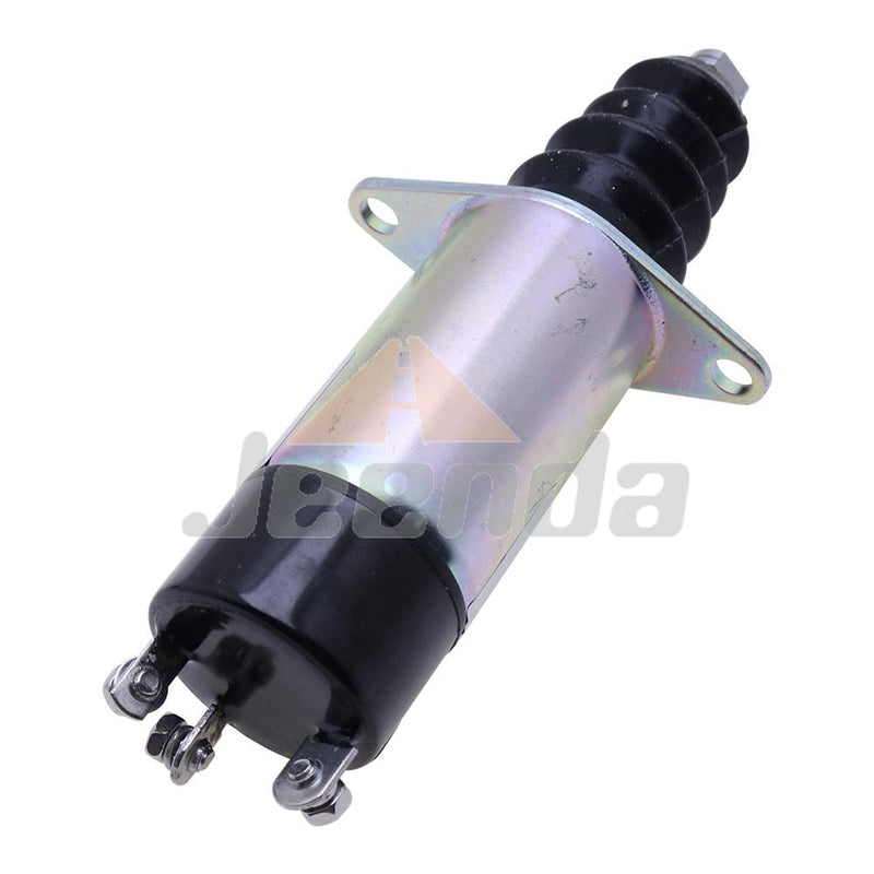 Diesel Stop Solenoid 1500-2160 1502-12ASU1B2 12V with 3 Terminals for Woodward 1500 Series