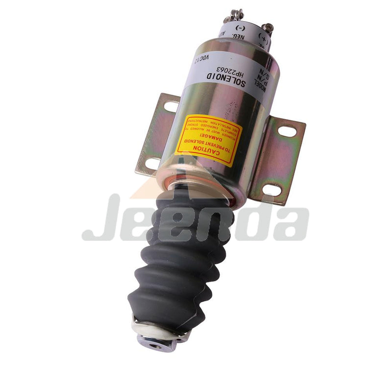 Diesel Stop Solenoid 2300-1514 2370-12E7U1B2S1A for Woodward 2370 Series