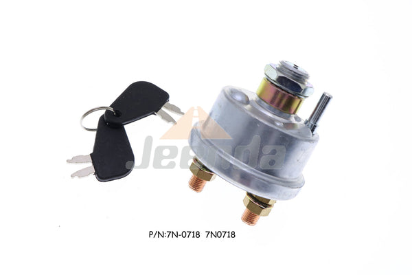 Free Shipping Ignition Switch 7N-0718 7N0718 for Caterpillar 972L 924F 920 903C2 966K 993K 988B 930T 901C 980F II 938G 902 906K 992C 994D 930K 980L 903C C4.4 M313C M315D2 M316C M316D M322D2 MH M322F M320D2 M313D M318D M317D2