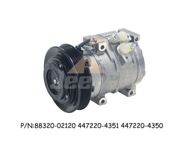 Free Shipping Compressor 88320-02120 447220-4351 447220-4350 for Toyota Matrix Corolla 10S15L 1.8I L4