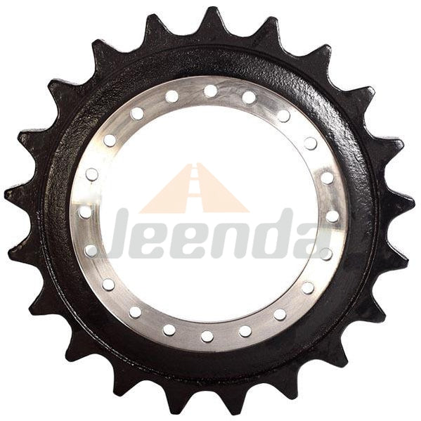 Free Shipping Sprocket 81E5-2001 81EO20011 for Hyundai R290 R290-3 R290LC 24holes