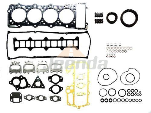 Full Overhaul Gasket Kit for Mitsubishi 4M41 4M41T Pajero KH-V78 V68 Engine