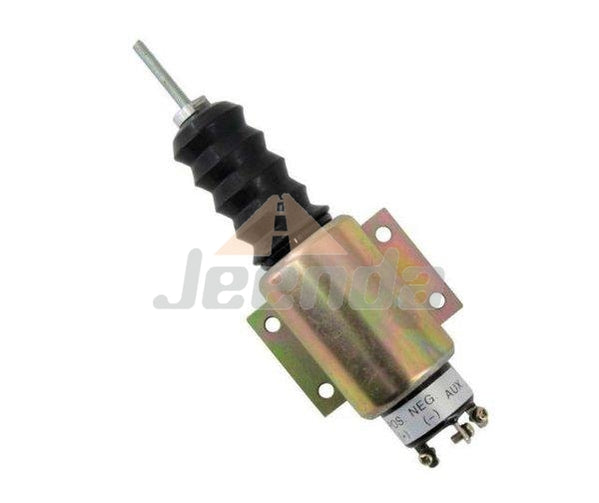 Free Shipping Diesel Stop Solenoid SA-2606-A 2001-12E2U1B2A 12V with 3 Terminals for Woodward 2000 Series