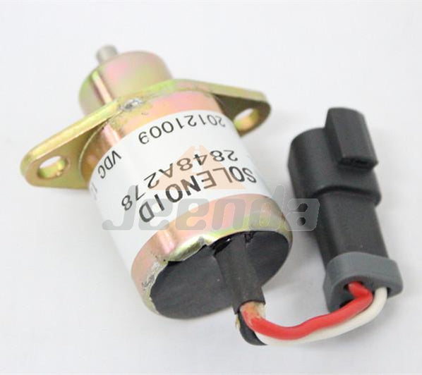 Stop Solenoid 2848A278 for Perkins 700 Series Diesel Engine CAT 246 Skid Steer