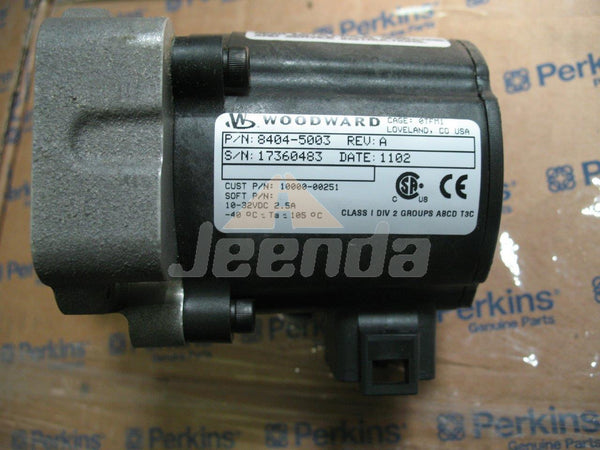 Actuator 8404-5003 10000-00251 17360483 for Woodwards