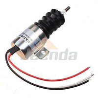 Free Shipping Stop Solenoid SA-3978 1751ES-12E2UC3B2S5 3 Wires for Woodward 12V