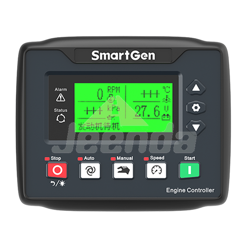 SmartGen HEM4100 Relay speed regulation output + CANBUS interface