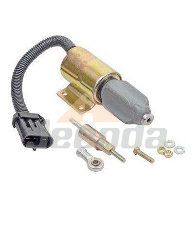 Stop Solenoid F3HZ-9A594-A for Ford 7.8L Engine Heavy Truck Navistar