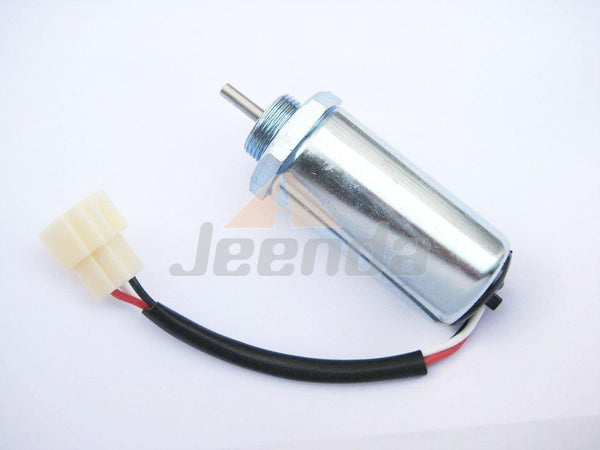 Stop Solenoid for Isuzu 3LD1 3LD2 4LE1 3LB1 4LB1 Engines