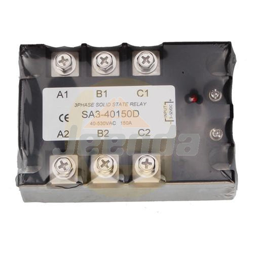 Three Phase Solid State Relay SA3-40150D AC SSR 3-32VDC/40-530VAC 150A Turn-on