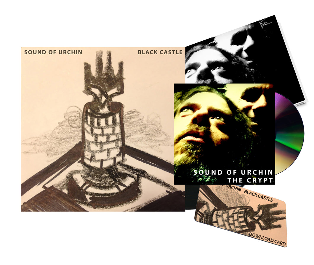 BLACK CASTLE LP * DELUXE * SET (LP, download card, booklet,
