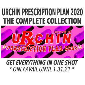 URCHIN PRESCRIPTION PLAN 2020 - THE COMPLETE COLLECTION (ONLY AVAIL UNTIL 1/31/21)