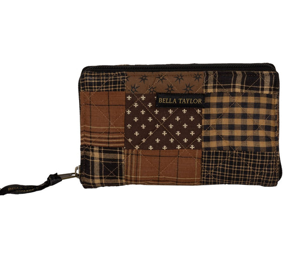 Ironstone Patchwork Cash System Wallet