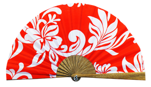 "Fan ""Red Polynesie"""