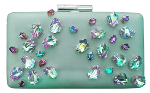 "Clutch Water Green ""Audrey"""