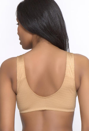 Front Closure Leisure Bra - Hook & Loop Strap (225V)