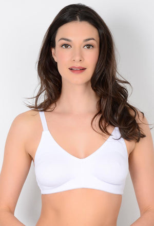 Molded Cotton Blend Nursing Bra (370)