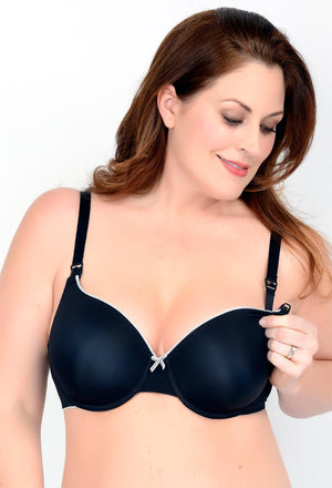 Molded Micro T-Shirt Nursing Bra (N3456)