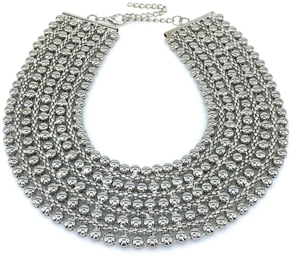Manilai Chunky Necklace (Silver)