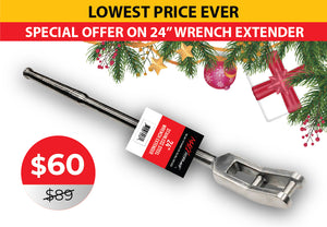 24-inch Open End Wrench Extender
