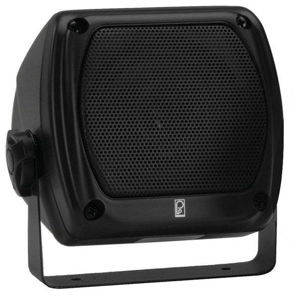 Poly-Planar Subcompact Box Speaker - (Pair) Black [MA840B]
