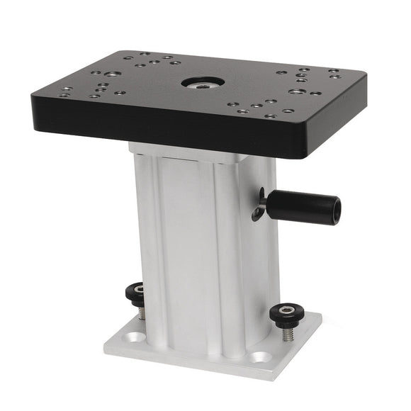 Cannon Aluminum Swivel Base Downrigger Pedestal - 6