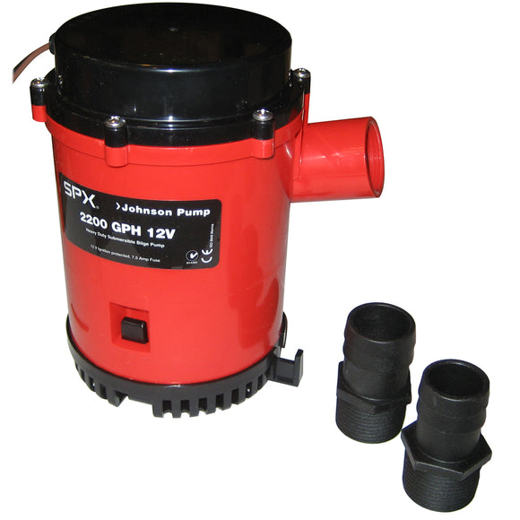 Johnson Pump 2200 GPH Bilge Pump 1-1-8