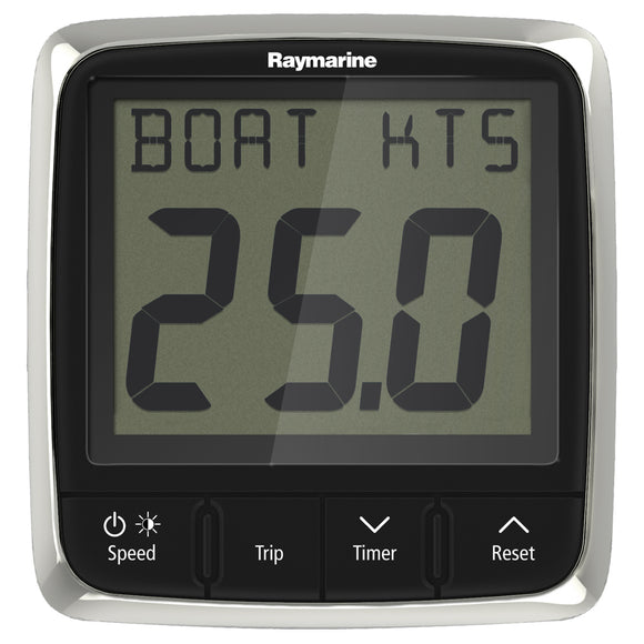 Raymarine i50 Speed Display System w-Nylon Thru-Hull Transducer [E70147]