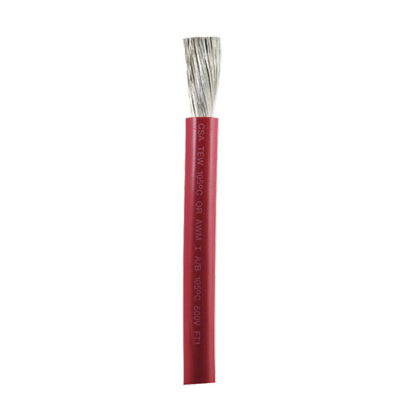Ancor Red 2/0 AWG Battery Cable - Sold By The Foot [1175-FT]