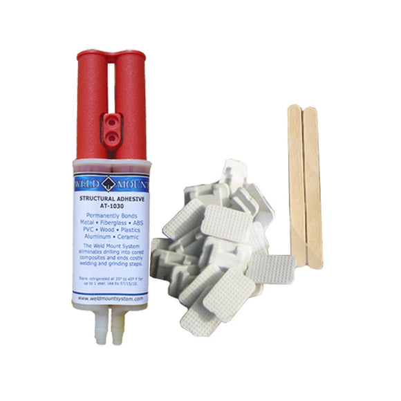 Weld Mount Retail Wire Tie Kit w/AT-8040 Adhesive [1050]