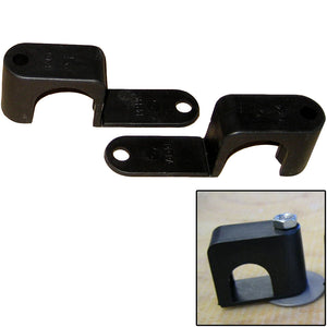 "Weld Mount Single Poly Clamp f/1/4"" x 20 Studs - 1"" OD - Requires 1.75"" Stud - Qty. 25 [601000]"