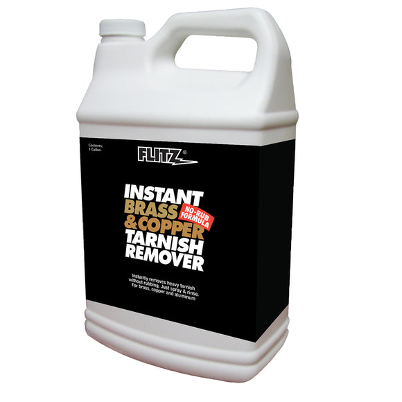 Flitz Instant Brass & Copper Tarnish Remover - 1 Gallon [BC 01810]