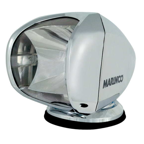 Marinco SPL-12C Wireless Spot Light - 100W - 12-24V - Chrome [SPL-12C]