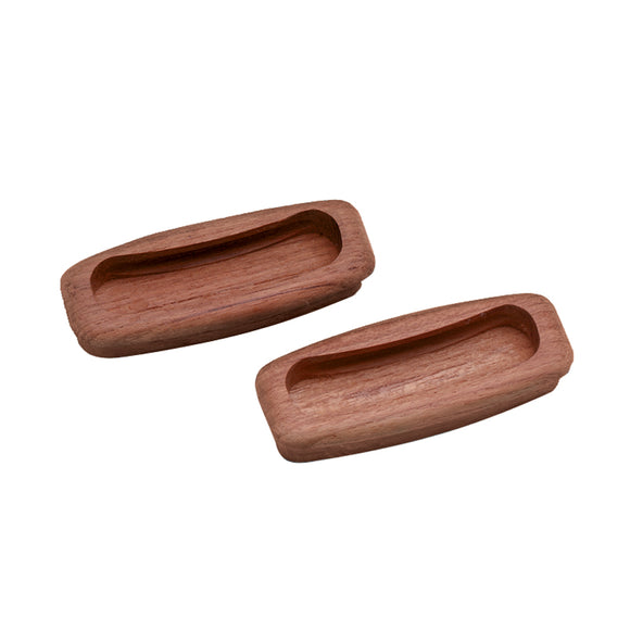 Whitecap Teak Rectangular Drawer Pull - 3-1-4