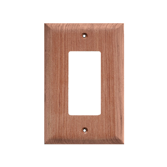 Whitecap Teak Ground Fault Outlet Cover-Receptacle Plate [60171]