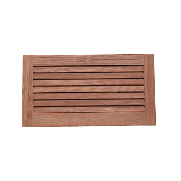 Whitecap Teak Louvered Insert - 9-3/8