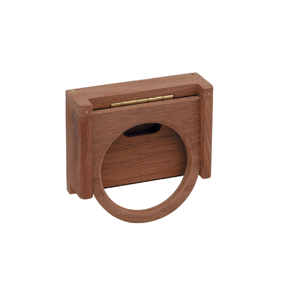 Whitecap Teak Folding Insulated Drink Holder [62602]
